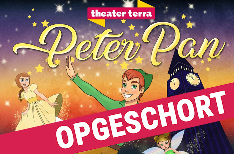 OPGESCHORT Peter Pan 6+ - Theater Terra